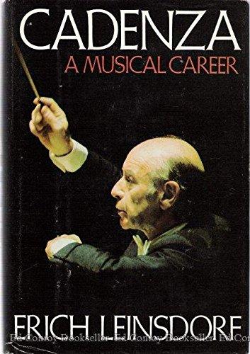 9780395244012: Cadenza: A Musical Career