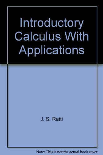 9780395245453: Introductory calculus with applications