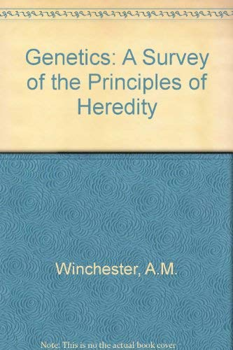 9780395245576: Genetics: A Survey of the Principles of Heredity