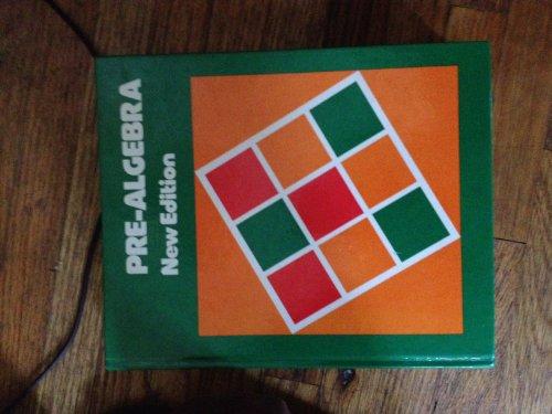 9780395246467: Pre-algebra (Ne wEdition) [Hardcover] by