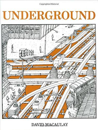 9780395247396: Underground