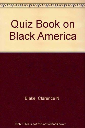 9780395249741: Quiz Book on Black America