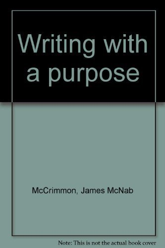 Writing with a Purpose: James M. McCrimmon