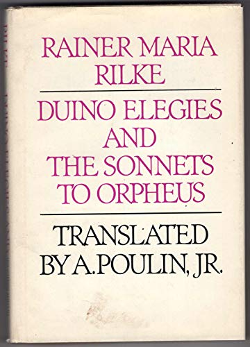 9780395250150: Duino elegies and The sonnets to Orpheus