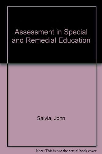 9780395250730: Assessment in Special and Remedial Education