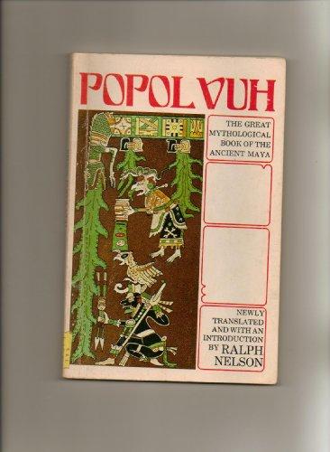 9780395251683: Popol Vuh: The Great Mythological Book of the Ancient Maya