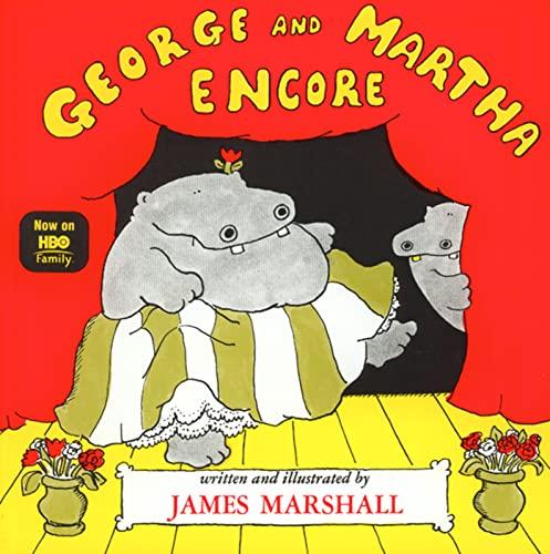 George and Martha Encore (Paperback): James Marshall