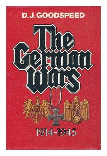 9780395257135: The German Wars, 1914-1945