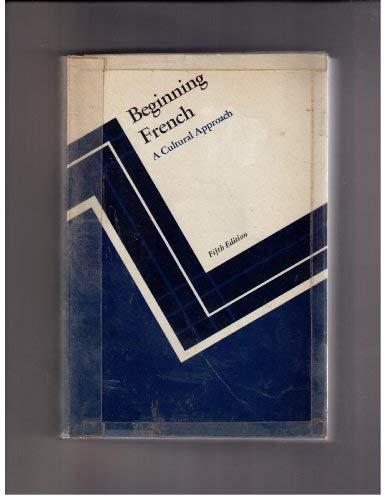 9780395257395: Beginning French: A Cultural Approach