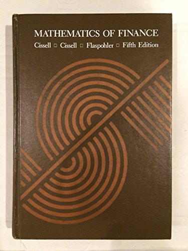 9780395258071: Mathematics of Finance