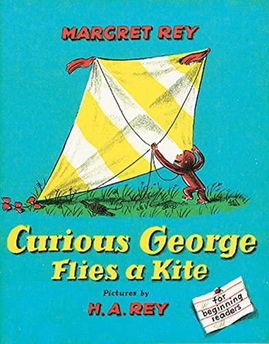 9780395259375: Curious George Flies a Kite