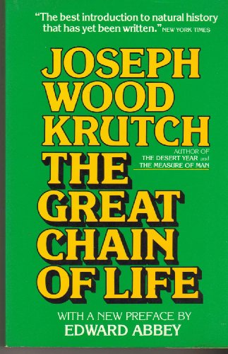 9780395259436: The Great Chain of Life