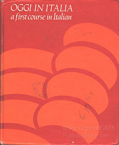 9780395262443: Oggi in Italia: First Course in Italian (English and Italian Edition)