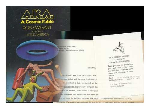 9780395263068: A.K.A. a Cosmic Fable