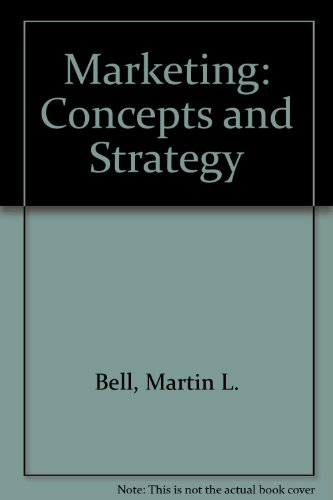 9780395265031: Marketing: Concepts and Strategy