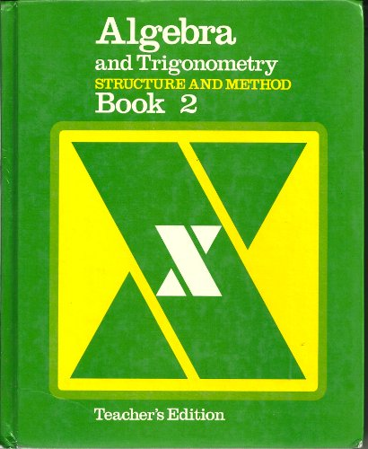 9780395266403: Algebra and Trigonometry Structure and Method Book 2 (Teacher's Edition)