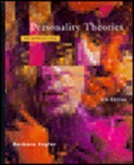 9780395267721: Personality Theories: An Introduction