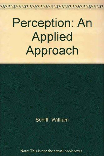 9780395270547: Perception: An Applied Approach
