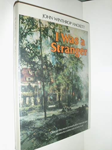 9780395270875: I Was a Stranger