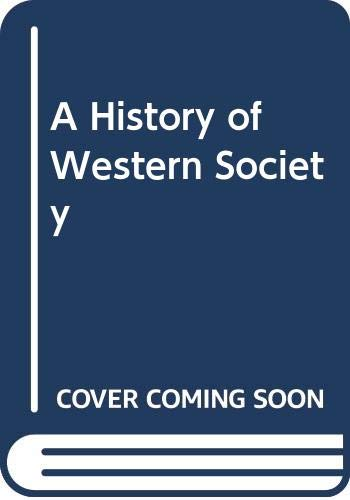 9780395274200: A History of Western Society