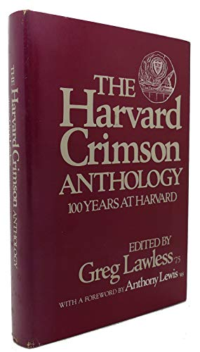 9780395276075: HARVARD CRIMSON ANTHOLOGY