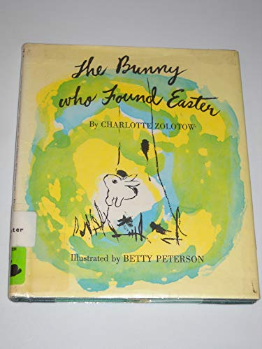 9780395276778: The Bunny Who Found Easter