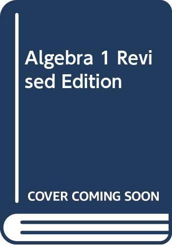 9780395279229: Algebra 1 Revised Edition