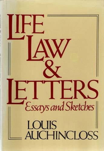 9780395281512: Life, Law, and Letters: Essays and Sketches