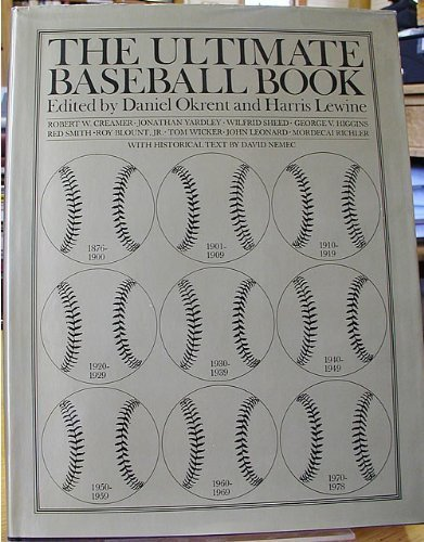 9780395282205: The Ultimate Baseball Book
