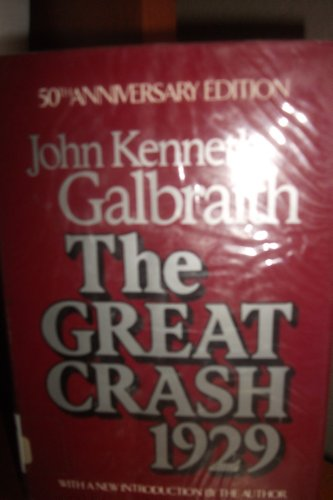 9780395284209: The Great Crash: Anniversary Edition
