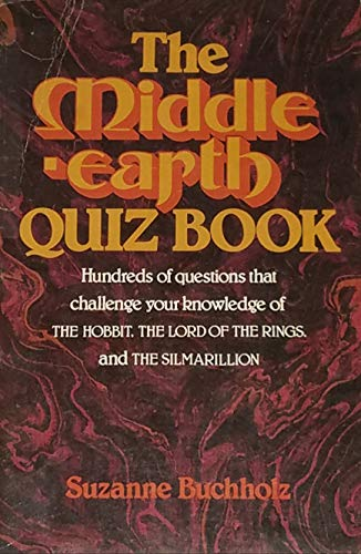 9780395284285: The Middle-Earth Quiz Book