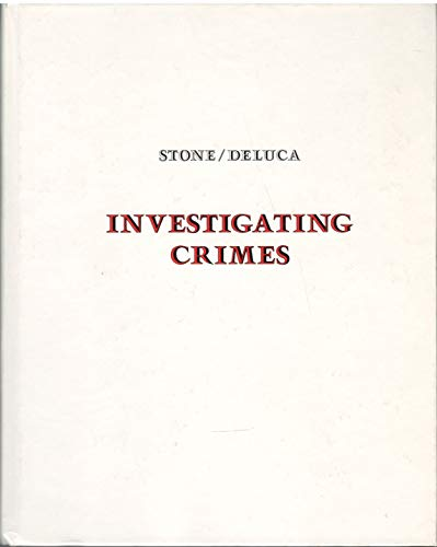 9780395285251: Investigating Crimes: An Introduction