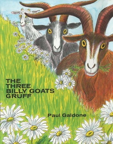 9780395288122: The Three Billy Goats Gruff (Paul Galdone Classics)