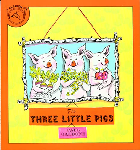 9780395288139: The Three Little Pigs