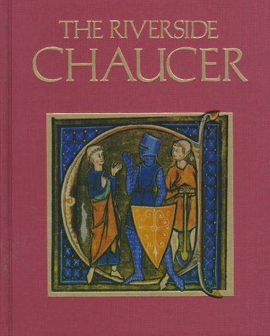 9780395290316: The Riverside Chaucer