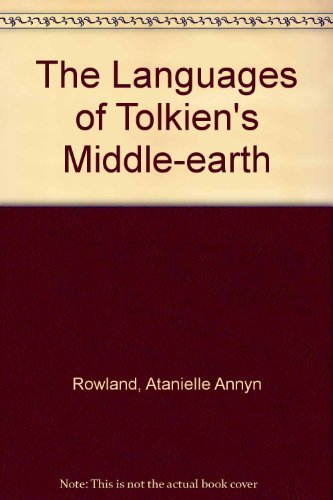 9780395291290: The Languages of Tolkien's Middle-earth