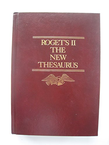 9780395296042: Roget's II: The New Thesaurus