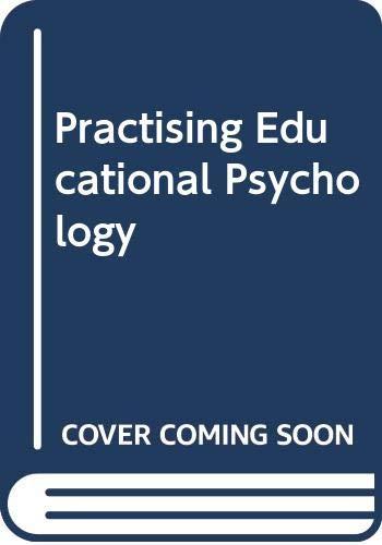 9780395299210: Practising Educational Psychology