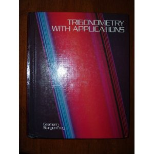 9780395304501: Trigonometry With Applications