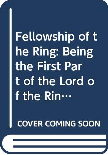 9780395312674: Fellowship of the Ring: Being the First Part of the Lord of the Rings