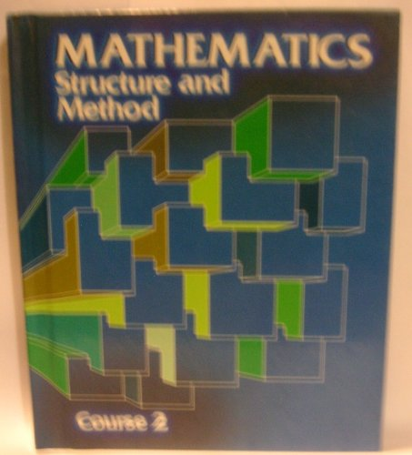 9780395313947: Mathematics: Structure and Method, Course 2