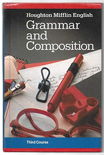 9780395314036: HOUGHTON MIFFLIN ENGLISH: GRAMMAR AND COMPOSITION.Third Course