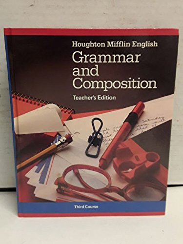 9780395314098: HOUGHTON MIFFLIN ENGLISH: GRAMMAR AND COMPOSITION.Third Course