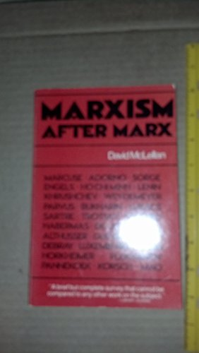 9780395315415: Marxism After Marx: An Introduction