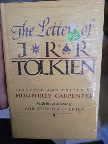 9780395315552: The Letters of J. R. R. Tolkien