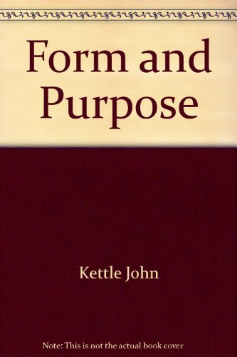 9780395316634: Form and purpose