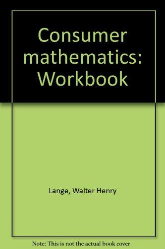 9780395318010: Consumer mathematics: Workbook