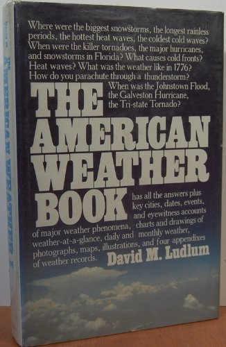 9780395320495: The American Weather Book