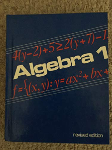 9780395321157: Algebra 1 - Teacher's Edition (Algebra 1, Teacher's Edition)