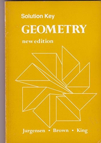 9780395323236: Solution Key Geometry